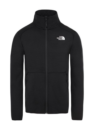The North Face The North Face Quest Tam Fermuarlı Erkek Sweatshirt Siyah Siyah